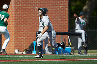 Robert Fajardo (26) of the Marshall Thundering Herd hustles towards home plate against the Charlotte 49ers at Hayes Stadium on April 23, 2016 in Charlotte, North Carolina. The Thundering Herd defeated the 49ers 10-5.  (Brian Westerholt/Four Seam Images)
