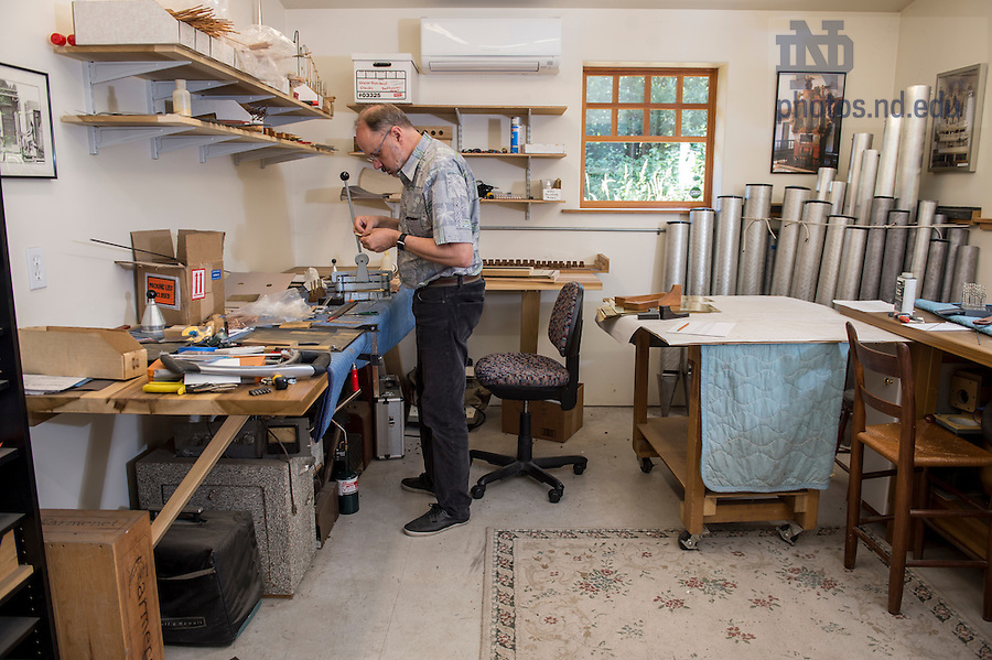 Fritts learned his craft from his late father, a beloved professor of music at Tacoma's Pacific Lutheran University as well as a woodworker and tinkerer who dabbled in organ building.