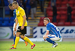 St Johnstone v Alashkert FC...09.07.15   UEFA Europa League Qualifier 2nd Leg<br /> Brian Easton at the final whistle<br /> Picture by Graeme Hart.<br /> Copyright Perthshire Picture Agency<br /> Tel: 01738 623350  Mobile: 07990 594431