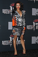 LOS ANGELES, CA, USA - APRIL 13: Kat Graham in the press room at the 2014 MTV Movie Awards held at Nokia Theatre L.A. Live on April 13, 2014 in Los Angeles, California, United States. (Photo by Xavier Collin/Celebrity Monitor)