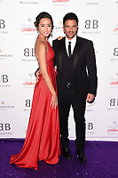 Peter and Emily Andre<br /> arriving for Caudwell Butterfly Ball 2019 at the Grosvenor House Hotel, London<br /> <br /> ©Ash Knotek  D3508  13/06/2019