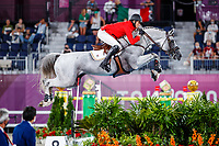 BEL-Gregory Wathelet rides Nevados S during the Jumping Individual Qualifier. Tokyo 2020 Olympic Games. Tuesday 3 August 2021. Copyright Photo: Libby Law Photography