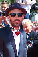 JT sur le tapis rouge pour la projection du film Hors Competition, VISAGES, VILLAGES, lors du soixante-dixième (70ème) Festival du Film à Cannes, Palais des Festivals et des Congres, Cannes, Sud de la France, vendredi 19 mai 2017. Philippe FARJON / VISUAL Press Agency