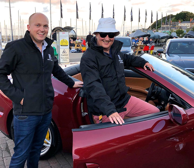 Time for a Ferrari Fix – Jeremy Beshoff and Peter Courtney