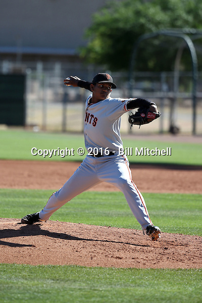 Victor Concepcion - San Francisco Giants 2016 spring training (Bill Mitchell)
