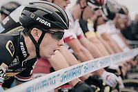 Lars van der Haar (NED/Telenet Fidea Lions) at the start<br /> <br /> Elite Men's race<br /> <br /> UCI cyclocross World Cup Koksijde / Belgium 2017