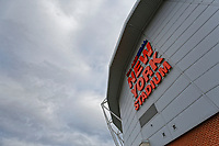 Exterior view of the stadium prior to the Sky Bet Championship match between Rotherham United and Swansea City at the AESSEAL New York Stadium, Rotherham, England, UK. Saturday 03 November 2018