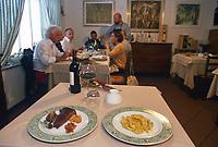 """- Italian food , typical kitchen of the Emilia region, restaurant """"Da Ivan"""" in Roccabianca (Parma)<br /> <br /> - Cibo italiano, cucina tipica della regione Emilia, ristorante """"Da Ivan"""" di Roccabianca (Parma),"""