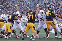 BERKELEY, CA - October 1, 2016: Cal Bears Football team vs. the Utah Utes at California Memorial Stadium. Final score, Cal Bears 28, Utah Utes 23.