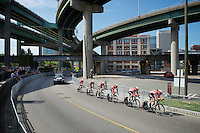Team Lotto-Soudal (BEL) on course<br /> <br /> Elite Men's Team Time Trial<br /> UCI Road World Championships Richmond 2015 / USA