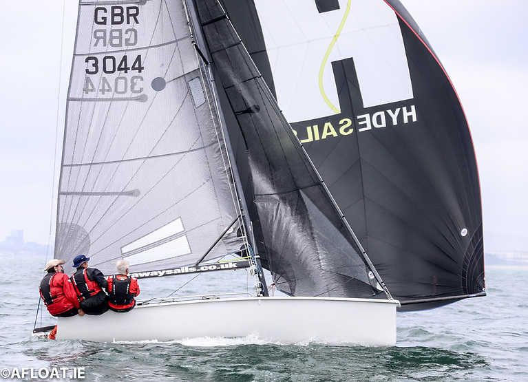 Aidan McSweeney's host club entry, Gold Digger is lying second at the SB20 Southerns at Royal Cork
