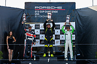Race 2, Gold Podium, #27 NGT Motorsport, Porsche 991 / 2017, GT3G: Sebastian Carazo, #5 TPC Racing, Porsche 991 / 2016, GT3G: Rob Ferriol, #16 ACI Motorsports, Porsche 991 / 2014, GT3G: Curt Swearingin