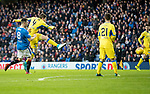 Rangers v St Johnstone…16.12.17…  Ibrox…  SPFL<br />Blair Alston scores saints first goal<br />Picture by Graeme Hart. <br />Copyright Perthshire Picture Agency<br />Tel: 01738 623350  Mobile: 07990 594431