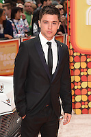 """JJ Hamblett<br /> arrives for the premiere of """"The Nice Guys"""" at the Odeon Leicester Square, London.<br /> <br /> <br /> ©Ash Knotek  D3120  19/05/2016"""