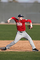 January 16, 2010:  Dean Hollar (Asheville, NC) of the Baseball Factory East Team during the 2010 Under Armour Pre-Season All-America Tournament at Kino Sports Complex in Tucson, AZ.  Photo By Mike Janes/Four Seam Images