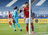 Nottingham Forest's Tobias Figueiredo (right) and Brice Samba react after Sheffield Wednesday's Connor Wickham scored his side's late equalising goal to make the score 1 - 1<br /> <br /> Photographer Rich Linley/CameraSport<br /> <br /> The EFL Sky Bet Championship - Sheffield Wednesday v Nottingham Forest - Saturday 20th June 2020 - Hillsborough - Sheffield <br /> <br /> World Copyright © 2020 CameraSport. All rights reserved. 43 Linden Ave. Countesthorpe. Leicester. England. LE8 5PG - Tel: +44 (0) 116 277 4147 - admin@camerasport.com - www.camerasport.com