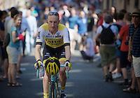 Jos van Emden (NLD/LottoNL-Jumbo) on his way to sign-in<br /> <br /> stage 3: Nijmegen-Arnhem (NLD) 190km<br /> 99th Giro d'Italia 2016