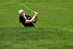 CHON BURI, THAILAND - FEBRUARY 20:  M.J. Hur of South Korea plays her second shot the 1st hole during day four of the LPGA Thailand at Siam Country Club on February 20, 2011 in Chon Buri, Thailand. Photo by Victor Fraile / The Power of Sport Images