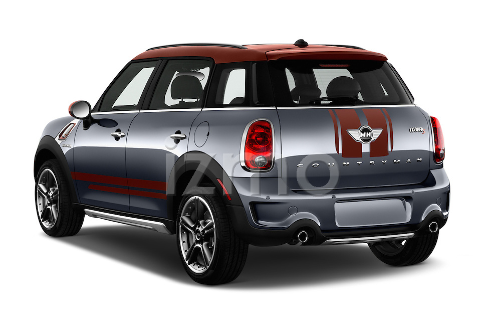 Car pictures of rear three quarter view of 2016 MINI Countryman Cooper S Park Lane 5 Door Hatchback Angular Rear