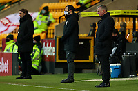 13th February 2021; Carrow Road, Norwich, Norfolk, England, English Football League Championship Football, Norwich versus Stoke City; A dejected Stoke City Manager Michael O'Neill watches his team lose