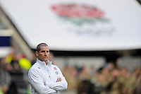 Stuart Lancaster, England Team Manager looks on before the QBE Autumn International match between England and New Zealand at Twickenham on Saturday 16th November 2013 (Photo by Rob Munro)