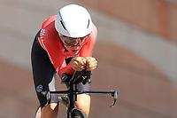 9th September 2021; Trento, Trentino–Alto Adige, Italy: 2021 UEC Road European Cycling Championships, Womens Individual time trials:  KIESENHOFER Anna (AUT)
