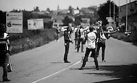 2013 Giro d'Italia.stage 13: Busseto - Cherasco..feedzone ballet