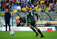 Western United's Andrew Durante in action during the A-League football match between Wellington Phoenix and Western United FC at Sky Stadium in Wellington, New Zealand on Saturday, 22 May 2021. Photo: Dave Lintott / lintottphoto.co.nz