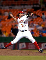 13 June 2006: Gary Majewski, pitcher for the Washington Nationals, on the mound against the Colorado Rockies at RFK Stadium, in Washington, DC. The Rockies defeated the Nationals 9-2 in the second game of the four-game series...Mandatory Photo Credit: Ed Wolfstein Photo..