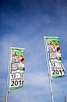 17-12-11, Netherlands, Rotterdam, Topsportcentrum, Vlaggen