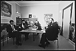 Charles Kennedy meets  Yakov Wise and  Rabbi Hershcel Gluck, leaders of the Jewish community Stamford Hill,  North London.