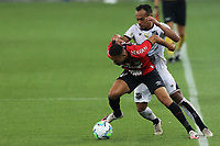 8th October 2020; Arena da Baixada, Curitiba, Brazil; Brazilian Serie A, Athletico Paranaense versus Ceara; Geuvânio of Athletico Paranaense is fouled by Bruno Pacheco of Ceara