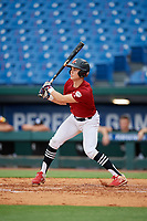 Zach Martin (11) of Middletown High School in Middletown, MD during the Perfect Game National Showcase at Hoover Metropolitan Stadium on June 17, 2020 in Hoover, Alabama. (Mike Janes/Four Seam Images)