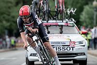 Kobe Goossens (BEL/Lotto Soudal)<br /> <br /> 104th Giro d'Italia 2021 (2.UWT)<br /> Stage 1 (ITT) from Turin to Turin (8.6 km)<br /> <br /> ©kramon