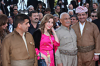 THE CAST OF THE FILM 'PESHMERGA' - RED CARPET OF THE FILM 'THE LAST FACE' AT THE 69TH FESTIVAL OF CANNES 2016