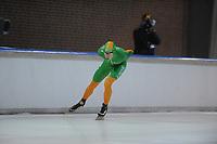 SCHAATSEN: DEVENTER: IJsstadion De Scheg, 13-10-2013, Nationale schaatswedstrijd de IJsselcup, Jorrit Bergsma, ©foto Martin de Jong