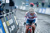Evie Richards (GBR/Trek Factory Racing)<br /> <br /> UCI 2021 Cyclocross World Championships - Ostend, Belgium<br /> <br /> Women's Race<br /> <br /> ©kramon