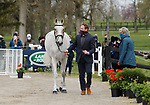 April 21, 2021: 68 Ballaghmor Class and rider Oliver Townend from Great Britain in the first horse veterinary inspection at the Land Rover Three Day Event at the Kentucky Horse Park in Lexington, KY on April 21, 2021.  Candice Chavez/ESW/CSM