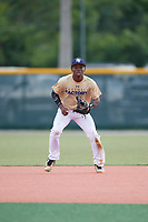Malik Dixon (58), from Grifton, North Carolina, while playing for the Brewers during the Baseball Factory Pirate City Christmas Camp & Tournament on December 29, 2017 at Pirate City in Bradenton, Florida.  (Mike Janes/Four Seam Images)