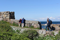 Spanns Bastion auf Frederiksø, Ertholmene (Erbseninseln) bei Bornholm, Dänemark, Europa<br /> Spanns Bastion on Frederiksø, Ertholmene, Isle of Bornholm Denmark