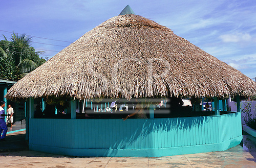 Altamira, Para State, Amazon, Brazil. Indian house (Casa do Indio) run by Goverment Indian Agency Funai.