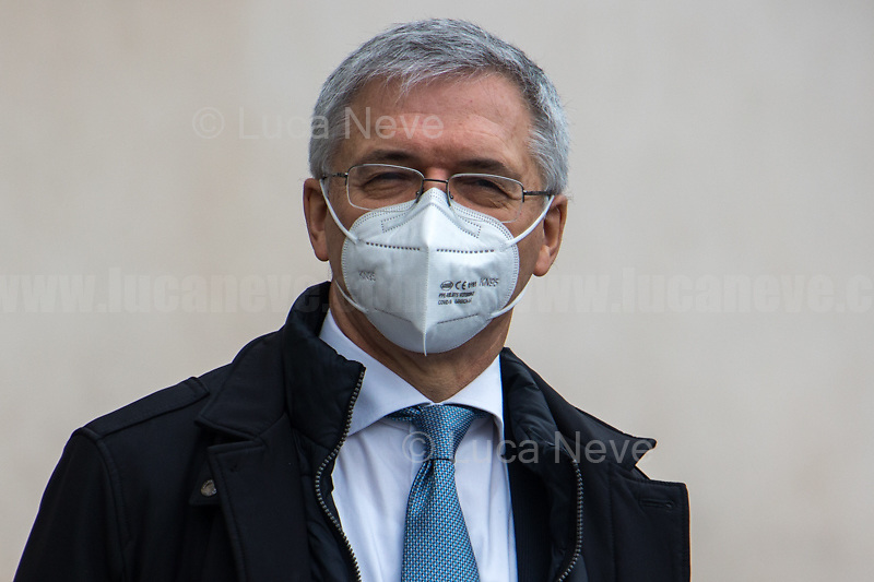 Daniele Franco, Minister of Economy and Finance.<br />