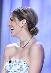 Katharine McPhee, hair detail, attends the 2018 Tony Awards Nominations Announcement at The New York Public Library for the Performing Arts on May 1, 2018 in New York City.