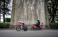Neilson Powless (USA/EF Education - Nippo)<br /> <br /> Stage 5 (ITT): Time Trial from Changé to Laval Espace Mayenne (27.2km)<br /> 108th Tour de France 2021 (2.UWT)<br /> <br /> ©kramon