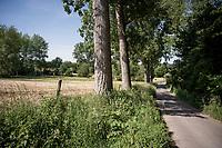 Ransbeekstraat in Sint-Antelinks (Herzele)<br /> <br /> cycling hotspots & impressions in the Vlaamse Ardennen (Flemish Ardennes) along the 181km Spartacus (Chasing Cancellara) cycling route<br /> <br /> Cycling In Flanders <br /> Flanders Tourist Board<br /> <br /> ©kramon