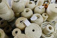TANZANIA Tanga, Sisal industry, Amboni Sisal Spinning Mill / TANSANIA Tanga, Sisal Industrie, Amboni Sisal Spinnerei, Sisal Garne und Seile