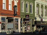 Main Street, downtown Lakeport, Lake County, California