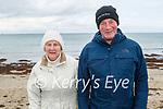 Ann and Billy O'Connell from Kilmoyley enjoying a stroll in Ballyheigue on Sunday.