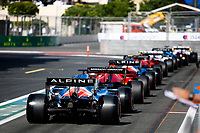 Action during the Formula 1 Azerbaijan Grand Prix 2021 from June 04 to 06, 2021 on the Baku City Circuit, in Baku, Azerbaijan <br /> FORMULA 1 : Grand Prix Azerbaijan <br /> 05/06/2021 <br /> Photo DPPI/Panoramic/Insidefoto <br /> ITALY ONLY