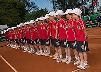 09-06-13, Tennis, Netherlands,The Hague, Playoffs Competition, The ballkids